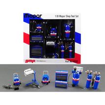 Garage Shop Tools MOPAR Set of 6 pieces 1/18 Diecast Replica by GMP 18918 - $47.98