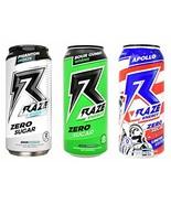 Repp Sports Raze Energy Rapid Hydration Zero Sugar 12-16oz Cans (Variety... - $31.65