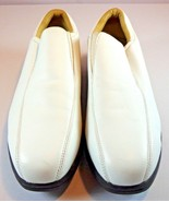 Womens Nike Golf Verdana Last Spike Loafer Size 8.5 White Tan Leather Shoes - $49.95