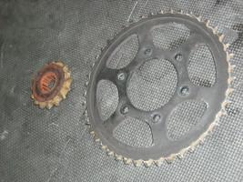 04-17 Honda CBR1000RR Front Rear Back Sprocket Set 41201-MEL-D20 42615-MFL-000 - $22.68