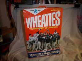 1987 minnesota twins wheaties box world champions full of cereal puckett... - $19.99