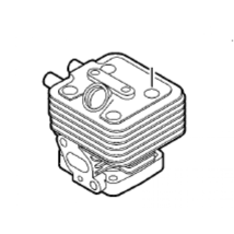 Genuine Echo Part CYLINDER A130000800 PAS-280 SRM-280 PPT-280 PPF-280 PE... - $76.76