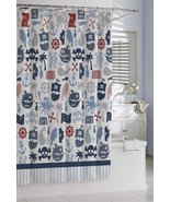 Kassatex Bambini Pirates Shower Curtain - $33.00