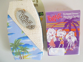 BRATZ DOLL NOTEPAD & PLAYING CARDS 2004 MGA New Sealed Deck - $7.99