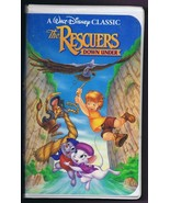 Rescuers Down Under ORIGINAL Vintage VHS Clamshell Edition Disney Master... - $13.99