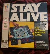 Vintage 1971 Stay Alive Board Game Milton Bradley Complete Springfield Mass - $16.06