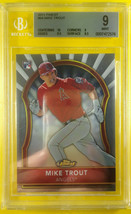 MIKE TROUT 2011 Topps FINEST ROOKIE RC #94 BGS 9 MINT w/ 10 centering - $999.99