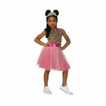 NEW Nomi Boxy Girls Halloween Costume Small 4-6 Pink Dress Headpiece 2 Boxes - $27.67