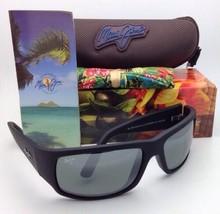 Maui Jim Lunettes de Soleil World Tasse Mj 266-02MR Noir Mat Cadres avec