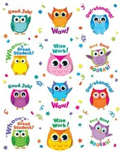 Carson Dellosa Colorful Owl Motivators Motivational Stickers 168144 - $6.07