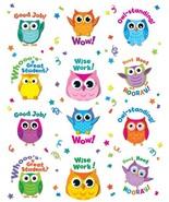 Carson Dellosa Colorful Owl Motivators Motivational Stickers 168144 - $6.07