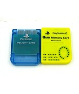 Playstation PS2 Memory Cards - Lot of Two (2) - $8.90
