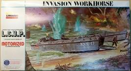 L.C.V.P. Invasion Workhorse Motorized # 7411 Scale1:32 Vintage 1976 Lind... - $63.65