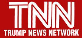 TNN Trump News Network Red Vinyl Decal Bumper Sticker - $6.99