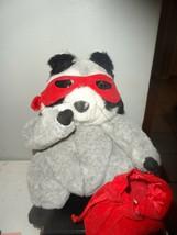 "Love Bandit 10"" Raccoon Plush Valentine Sweetheart Stuffed - $12.82"