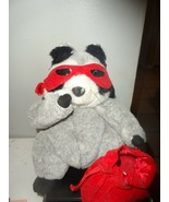 "Love Bandit 10"" Raccoon Plush Valentine Sweetheart Stuffed - $12.82"