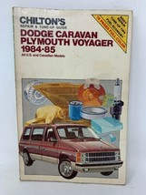 Chilton's Dodge Caravan Plymouth Voyager 1984 1985 Service Repair Manual 181006N - $6.80