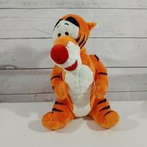 TIGGER Plush Stuffed Toy Disney White Belly 11.5 inch - $14.01