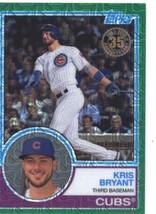 2018 Topps 83 Chrome Silver Promo Series 1 Green #7 Kris Bryant NM-MT #d 99 Cubs - $40.00
