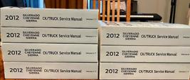 2012 Chevy SILVERADO & GMC SIERRA CK TRUCK Service Shop Repair Manual OE... - $494.99