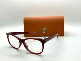 Tory Burch TY 2096U 1763 BURGUNDY 54-15-140MM Eyeglasses Frame CASE/CLOTH - $77.57