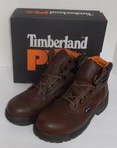 """Timberland Pro Mens Size 8.5 Titan 6"""" WP Titan Safety Toe Boots Brown New - $2.077,45 MXN"""