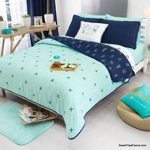 Cactus Blanket Comforter Reversible Gift Girl Teen Succulent P Lants Queen 4PC - $113.85