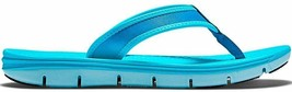 Women's Nike Apres 18 Slide 4 Sandals, 704692 400 Size 11 Clearwater Blue - $49.95
