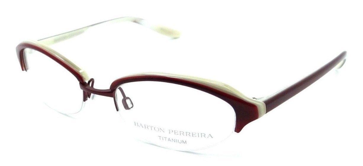 9e433e8c514 Barton Perreira Sylvia Eyeglasses Frames 49-18-135 Red Velvet Ruby Women -   78.40
