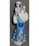 Lenox RHAPSODY IN BLUE Porcelain Bisque AMERICAN SONGBOOK LADY FIGURINE - $29.69
