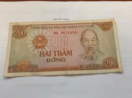 1972 South Vietnam 500 Dong P33 in Folder THE VIETNAM WAR Story//COA Banknote