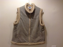 Old Navy Grey/Tan Winter Vest Sz XL