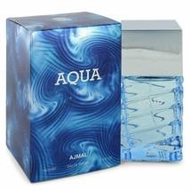 Ajmal Aqua by Ajmal 3.4 oz 100 ml EDP Spray for Men New in Box - $30.35