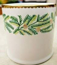 Evergreen Designed By Tiffany Made By Crown Staffordshire England Votive... - $23.38