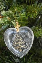 Hallmark - Our First Christmas - Acrylic Heart & Tree - 2019 Keepsake Or... - $13.96