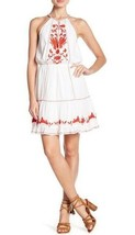 NWT Joie New Clemency Dress Clean White With Salsa -Size Large  $298 - $79.99