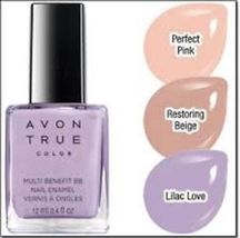 "Avon True Color Multi Benefit BB Nail Enamel ""Restoring Beige"" - $5.99"