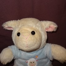 "Easter Lamb Sheep Stuffed Animal 9""  Plush Blue Shirt Spring R2 Design 9"" - $18.99"