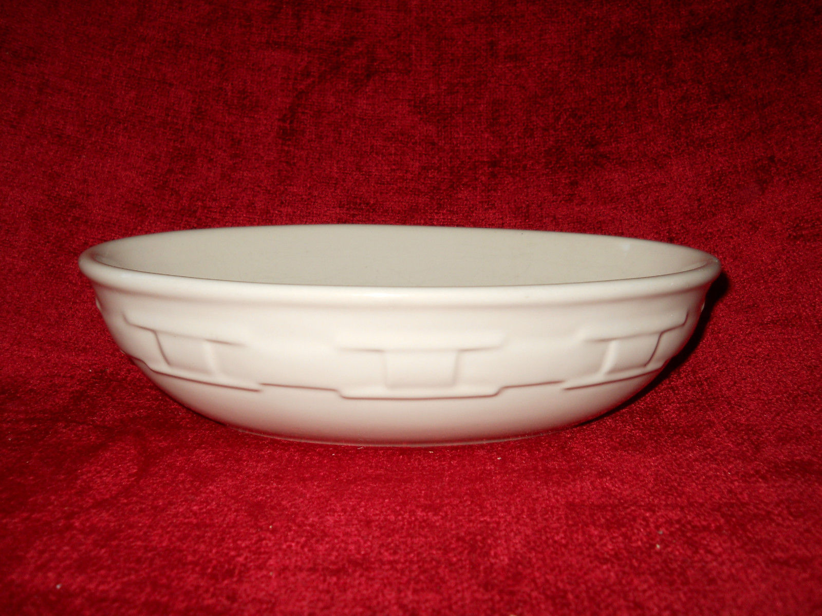 Primary image for Longaberger woven traditions ivory oval serving bowl