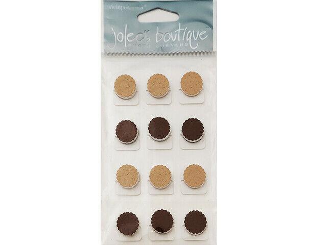 Jolee's Boutique Photo Corner Cookie Stickers #SPJA013