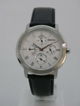 Seiko men watch special indicator day and date 24 hours SRL009 - $164.57