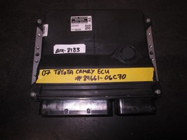 07 TOYOTA CAMRY ECU #89661-06C70 *See item description* - $27.68
