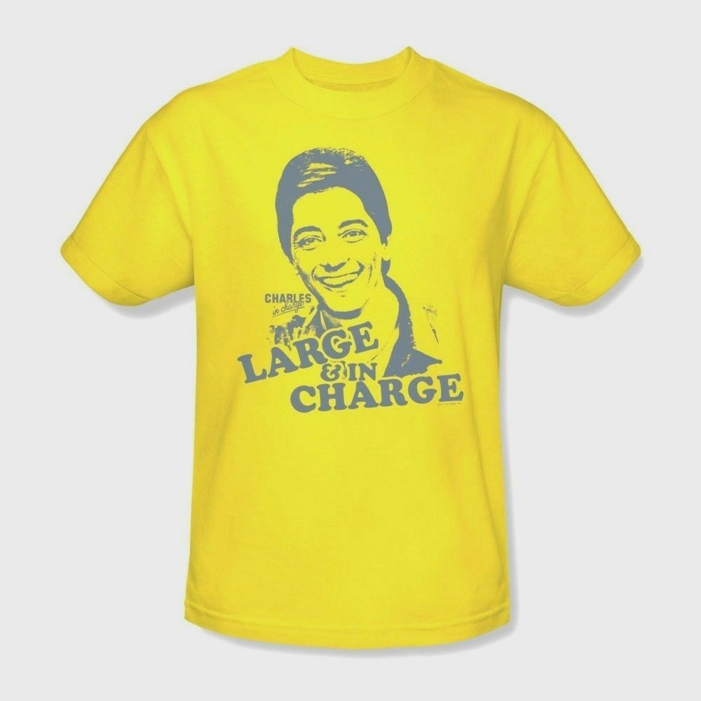 Charles In Charge T shirt Scott Baio retro 1980s TV cotton graphic tee NBC231