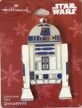 Hallmark STAR WARS R2D2 Flat Metal Christmas Ornament, 2018 NEW - $10.99