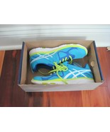 BNIB ASICS Women's GEL-Sustain TR Athletic Shoes, Electric Blue/White/Lime - $55.00