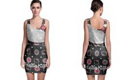 Damn Hello Kitty BODYCON DRESS FOR WOMEN - $22.99+