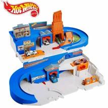 Mattel Hot Wheels Flying Customs Sto & Go Retro 5-Car Playset NIB/Sealed - $59.39