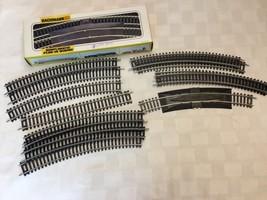 Bachman HO Curved Track 12 Pieces 1 w/ Power Plug - EUC - $28.66