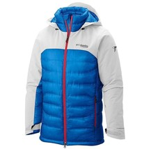 Columbia Heatzone 1000 TurboDown Hooded Jacket - Men's L XL - $299.99
