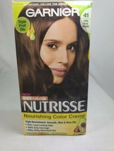 Garnier Nutrisse Triple Fruit Oil Nourishing Hair Color Creme 41 Dark Nu... - $14.99